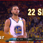 Stephen Curry All Shots Full Highlights 2017.5.16 WCF Game 2 vs Spurs  22 Shots in 3 Quarters