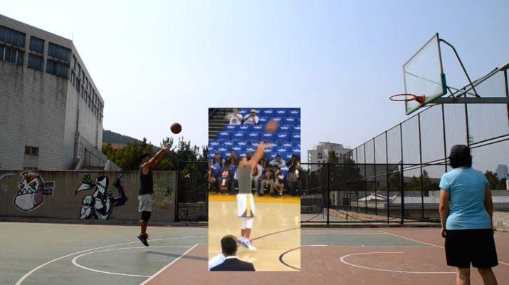 Basketball Shooting Training with Stephen Curry's Shooting