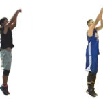 Basketball Shooting Training with Stephen Curry's Shooting Form Season 1 Test 6