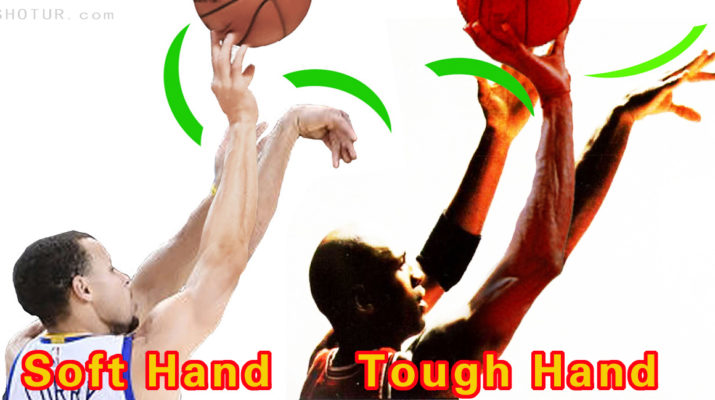 Stephen Curry and Michael Jordan Soft Hand and Tough Hand Shooting ...