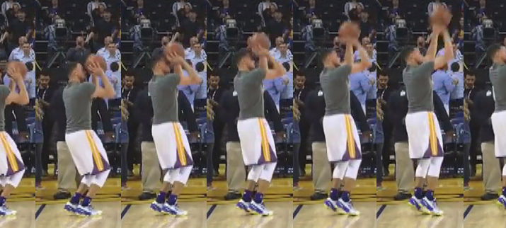 How pro & youth basketball players shoot jump shots.