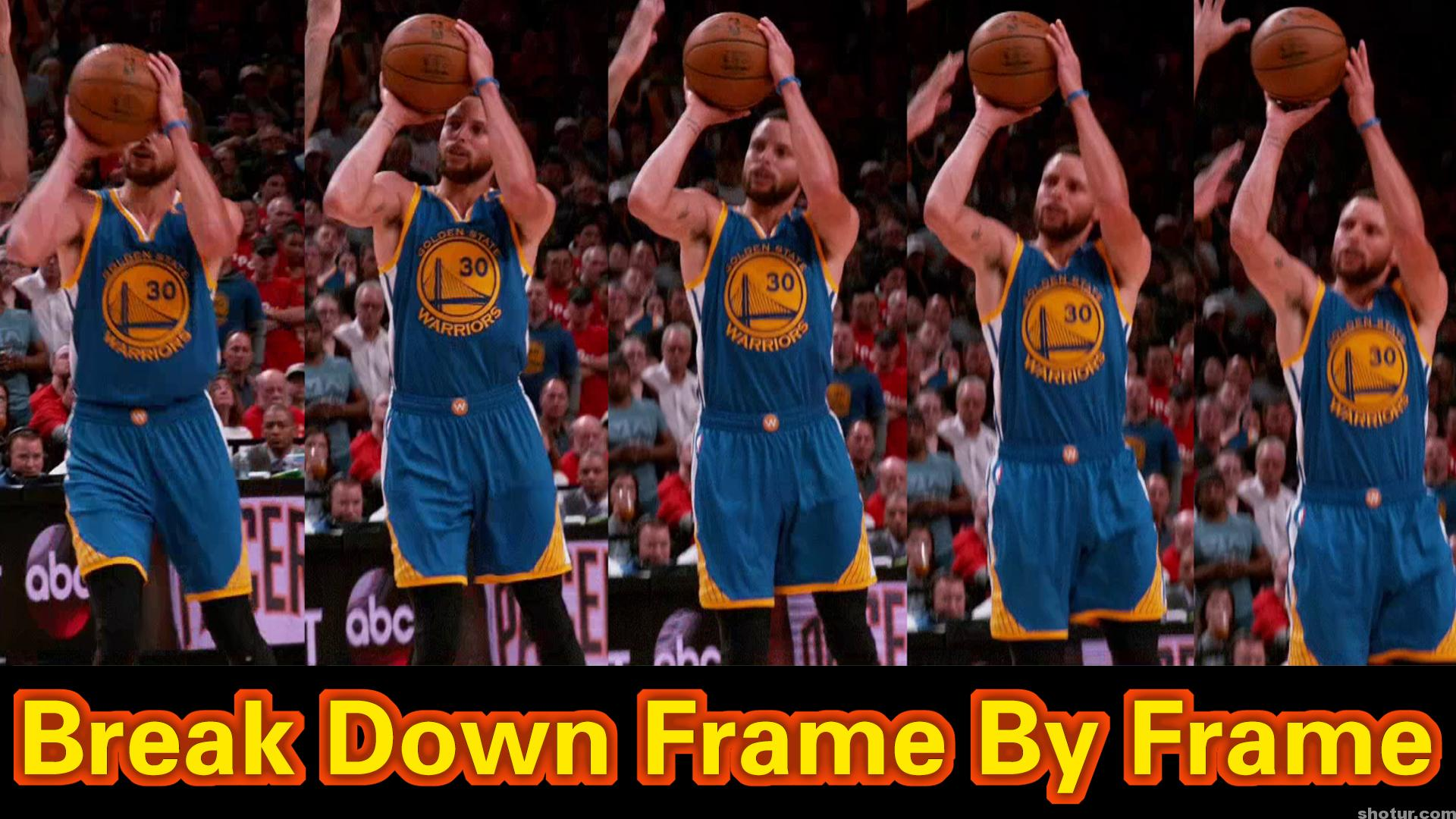 Stephen Curry Shooting Form Slow Motion Break Down Frame By Frame 2018 Part  2 – Shotur Basketball Jump Shot Tips 0f773df19